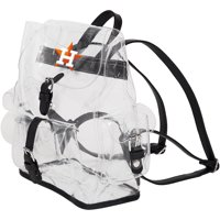Houston Astros The Northwest Company Lucia Clear Backpack - No Size