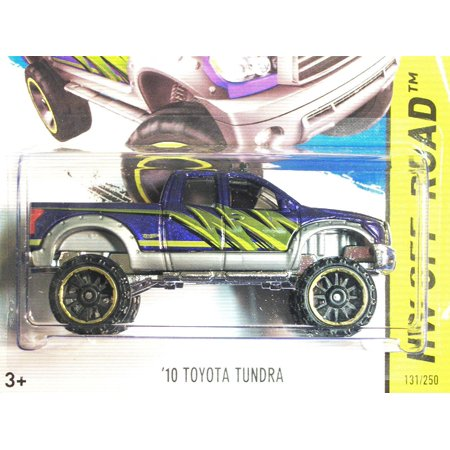 2014 Hot Wheels Hw Off-Road 131/250 - '10 Toyota Tundra - Purple, HW Off Road Series By (Best Off Road Wheels For Tundra)
