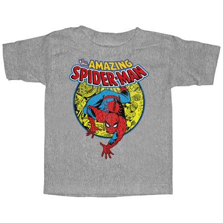 Marvel Toddler's Amazing Spider-Man Responsibility T-Shirt
