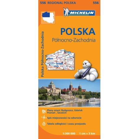 North West Halloween Events (Poland North West Regional Map 556 (Michelin Regional Maps))