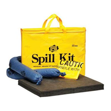 Get NEW PIG 45300 Spill Kit, Carrying Bag, 5 gal. Before Too Late