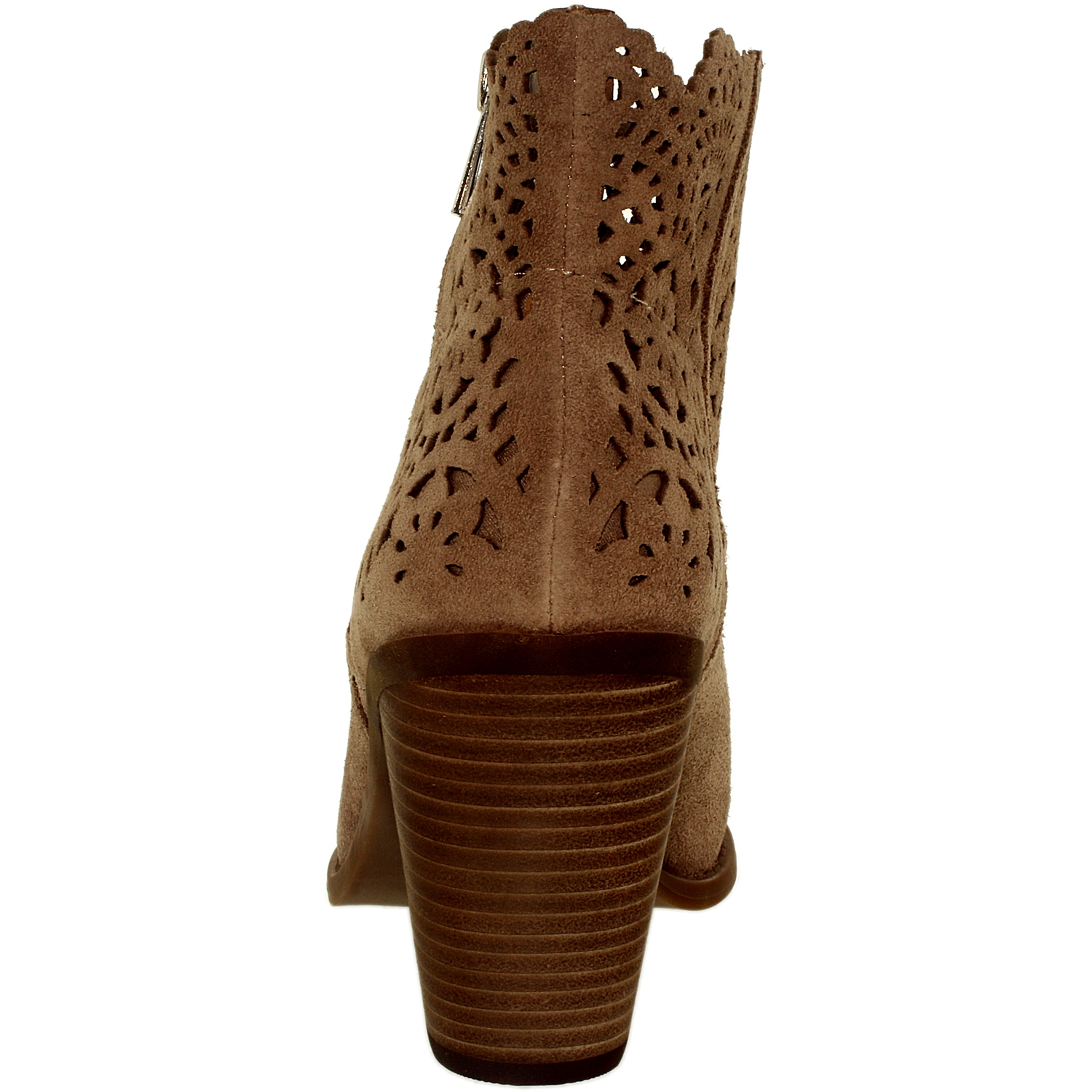 Jessica Simpson Women's Cachelle Suede Warm Taupe Ankle-High Leather Boot - 9.5M - image 2 of 3