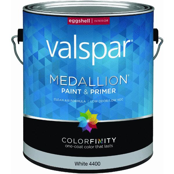 Valspar Medallion 100 Acrylic Paint Amp Primer Eggshell