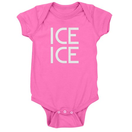 CafePress - Ice Ice - Cute Infant Bodysuit Baby Romper