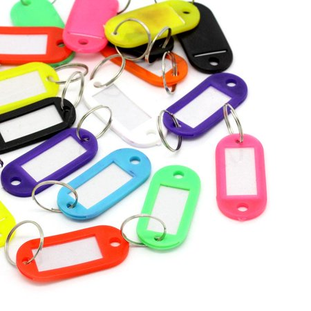 Sexy Sparkles 20 Pcs Plastic Key Tags Key Rings Id Tags Assorted Colors 66mm X 22mm Sexy Sparkles 20 Pcs Plastic Key Tags Key Rings Id Tags Assorted Colors 66mm X 22mm