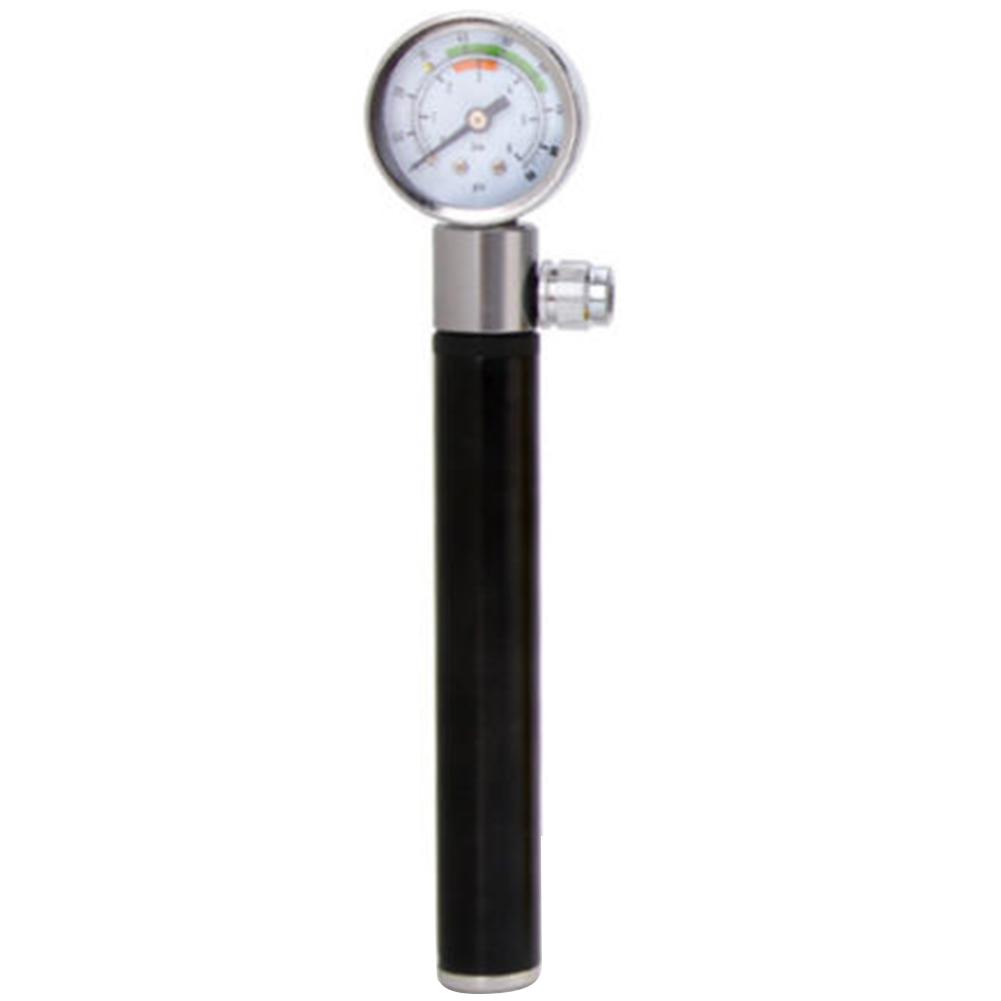 Bicycle Bikes Hand Inflator Air Pump with Gauge High Pressure Meter Shock Supply
