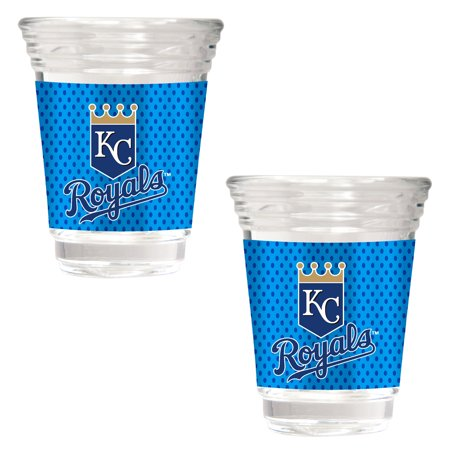 Kansas City Royals 2018 Players' Weekend 2-Piece Party Shot Glass Set - No