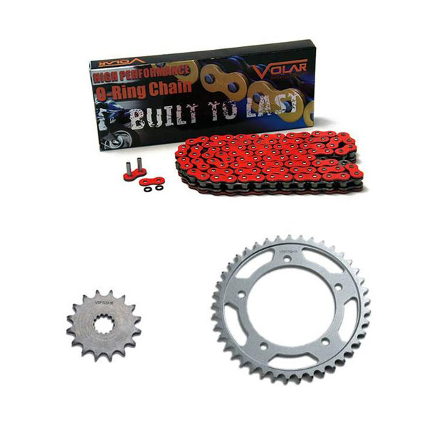 2006 Ducati 749 Biposto O-Ring Chain and Sprocket Kit - Red