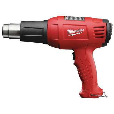 11.6-Amp Corded Heat Gun, 120VAC 1392W MILWAUKEE (Milwaukee Variable Temperature Heat Gun)