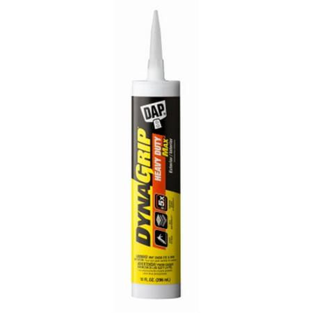 DYNAGRIP 27511 9 oz. White Hybrid Polymer Heavy Duty Max Construction Adhesive Cartridge