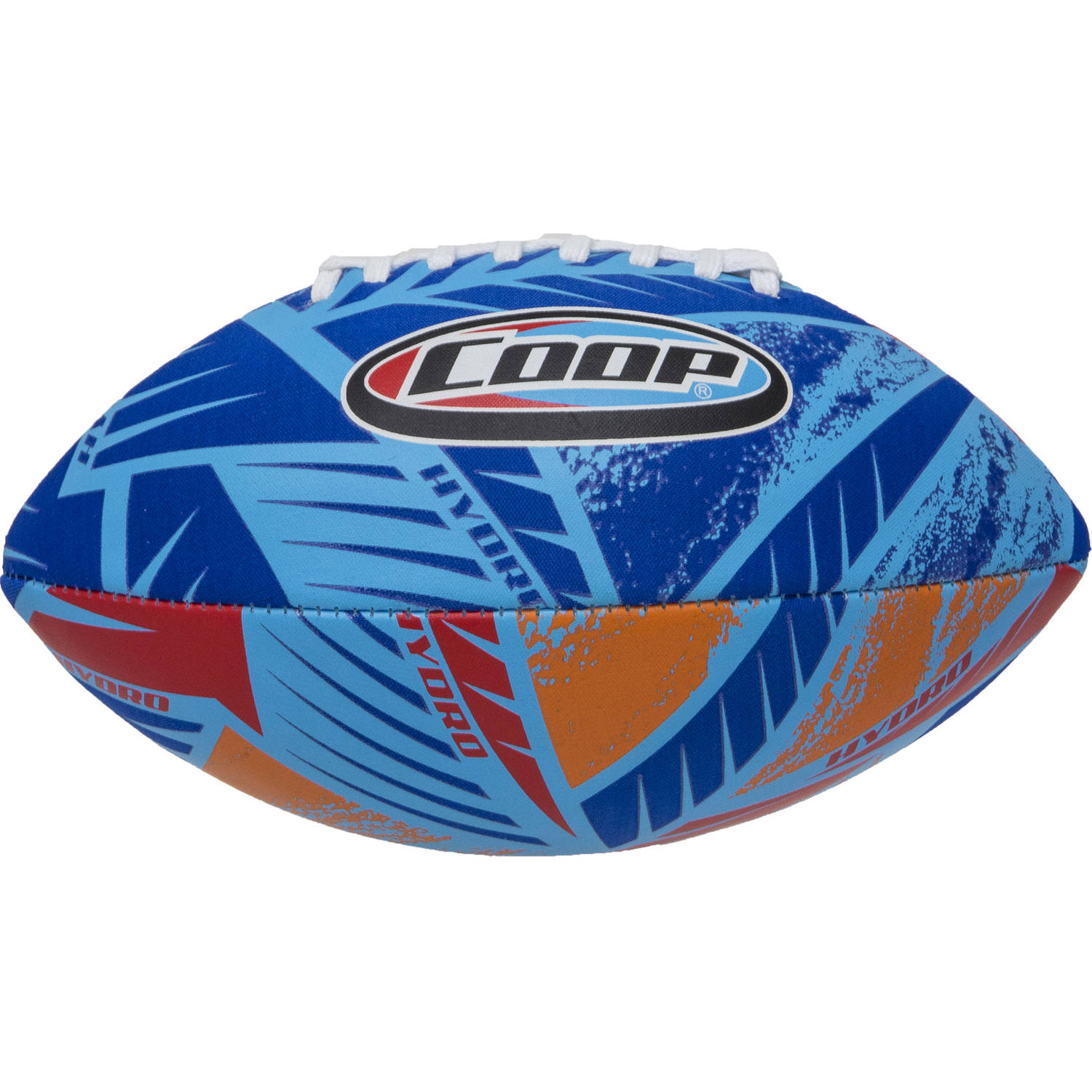 Coop Hydro Football, Taper Blue Red by PACIFIC GLOW LIMITED