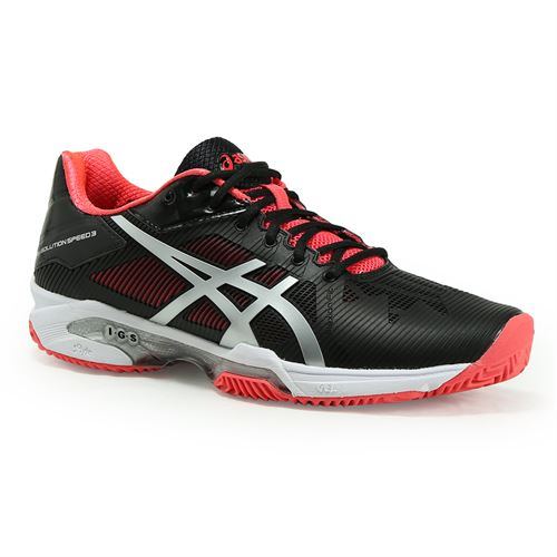 asics gel solution speed 3 clay womens tennis shoe active