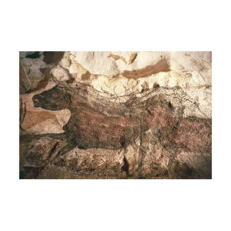 France, Lascaux, Vezere Valley, Cave Paintings Print Wall