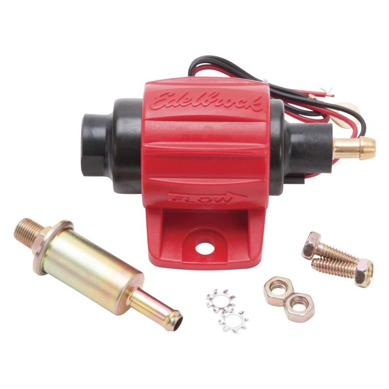 Edelbrock Fuel Pump Low Pressure 12V 38 GPH Gasoline Only