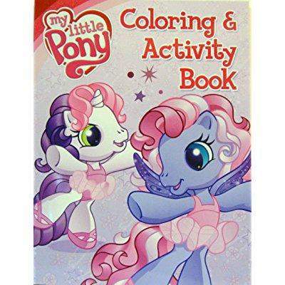 My Little Pony Coloring Book And Activity Book 4 Walmart Com Walmart Com