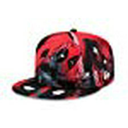Marvel Deadpool All Over 5950 Fitted Baseball Cap