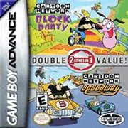 2 GAMES IN 1 DOUBLE VALUE Cartoon Network Block Party & Cartoon Network Speedway - Game Boy Advance