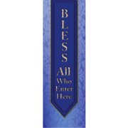 Banner-Bless All Who Enter (2' x 6') (Indoor)