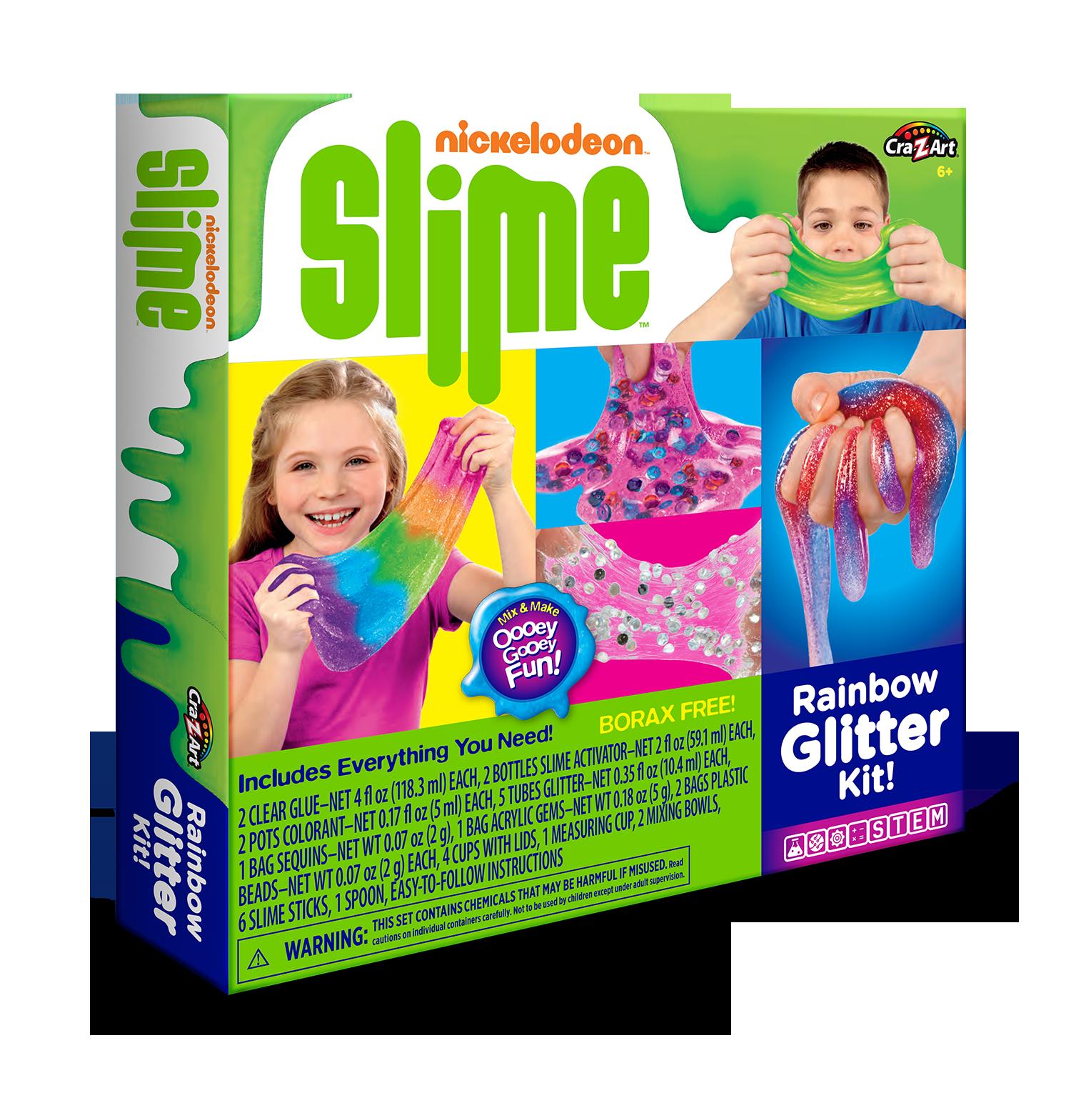 Nickelodeon Licensed Cra-Z-Art Rainbow Glitter Box Set