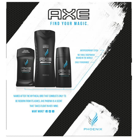 AXE Regimen Gift Set for Men Phoenix 3 (Perfectly Happy Gift Set)