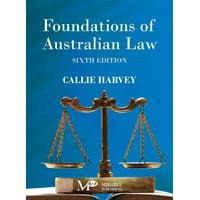 Foundations of Australian Law (Paperback)