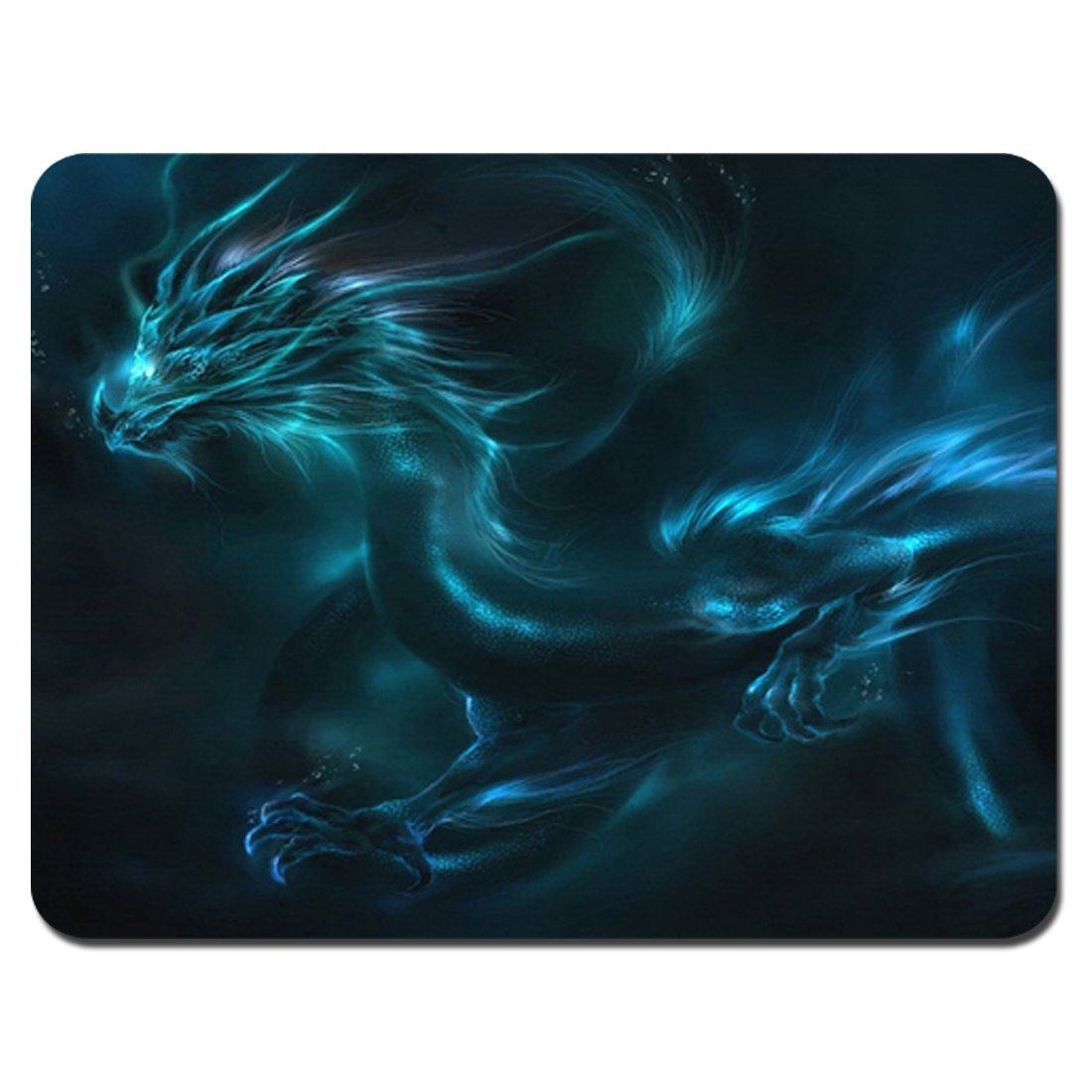 POPCreation Blue Dragon Mouse pads Gaming Mouse Pad 9.84x7.87 inches