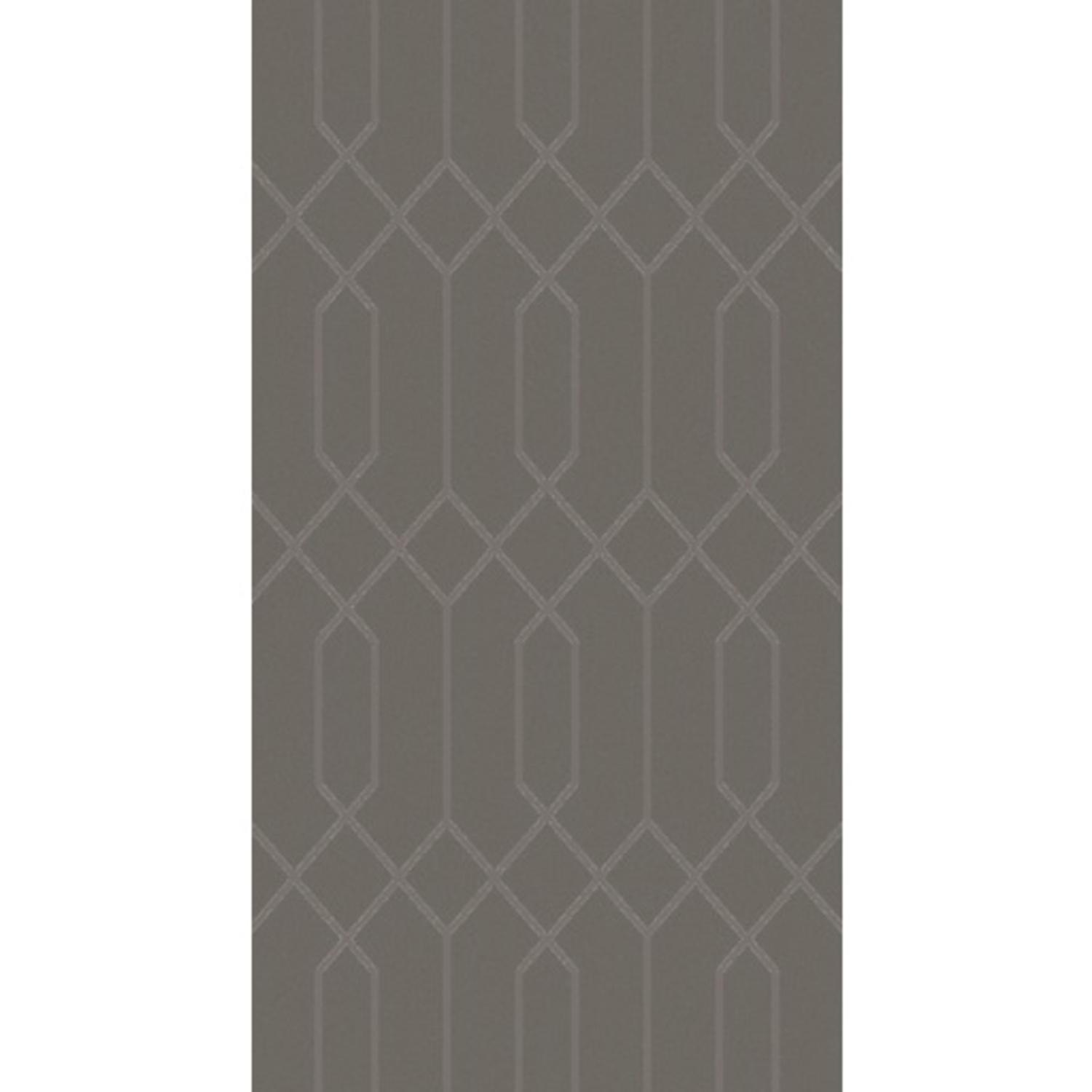 9' x 13' Textured Lines Stone Gray Hand Knotted Wool Area Throw Rug