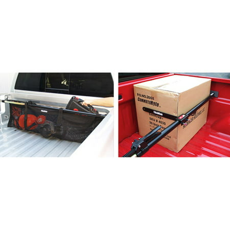 HitchMate Cargo Bar, StabiLoad and Bed Net (Full (Cargo Bed)