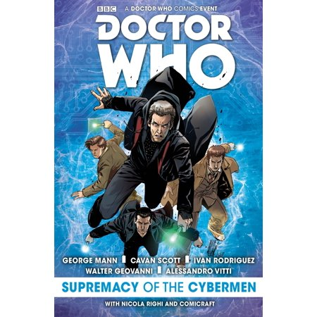 Doctor Who: Event 2016 - Supremacy of the Cybermen (Ivan Rodriguez Signed Baseball)