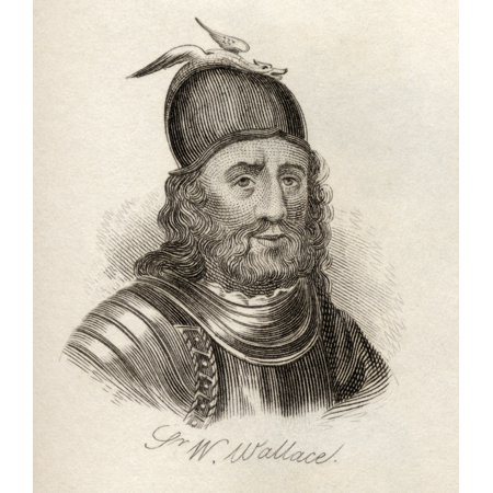 Sir William Wallace Circa 1272 76 To 1305scottish Knight Landowner And Patriot From The Book