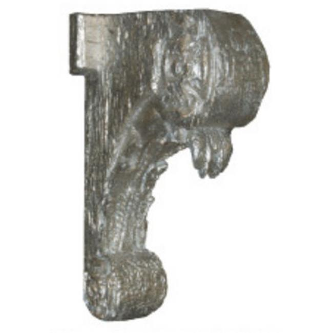 Hickory Manor House ABR1004 GS Weathered Bracket - Gilt Silver