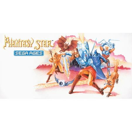 Sega Ages Phantasy Star, SEGA, Nintendo Switch,