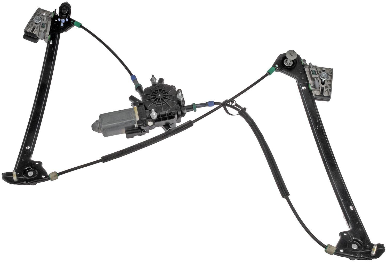 power window regulator and motor assembly 748
