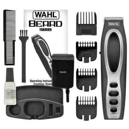 wahl 5598 rechargeable beard trimmer. Black Bedroom Furniture Sets. Home Design Ideas