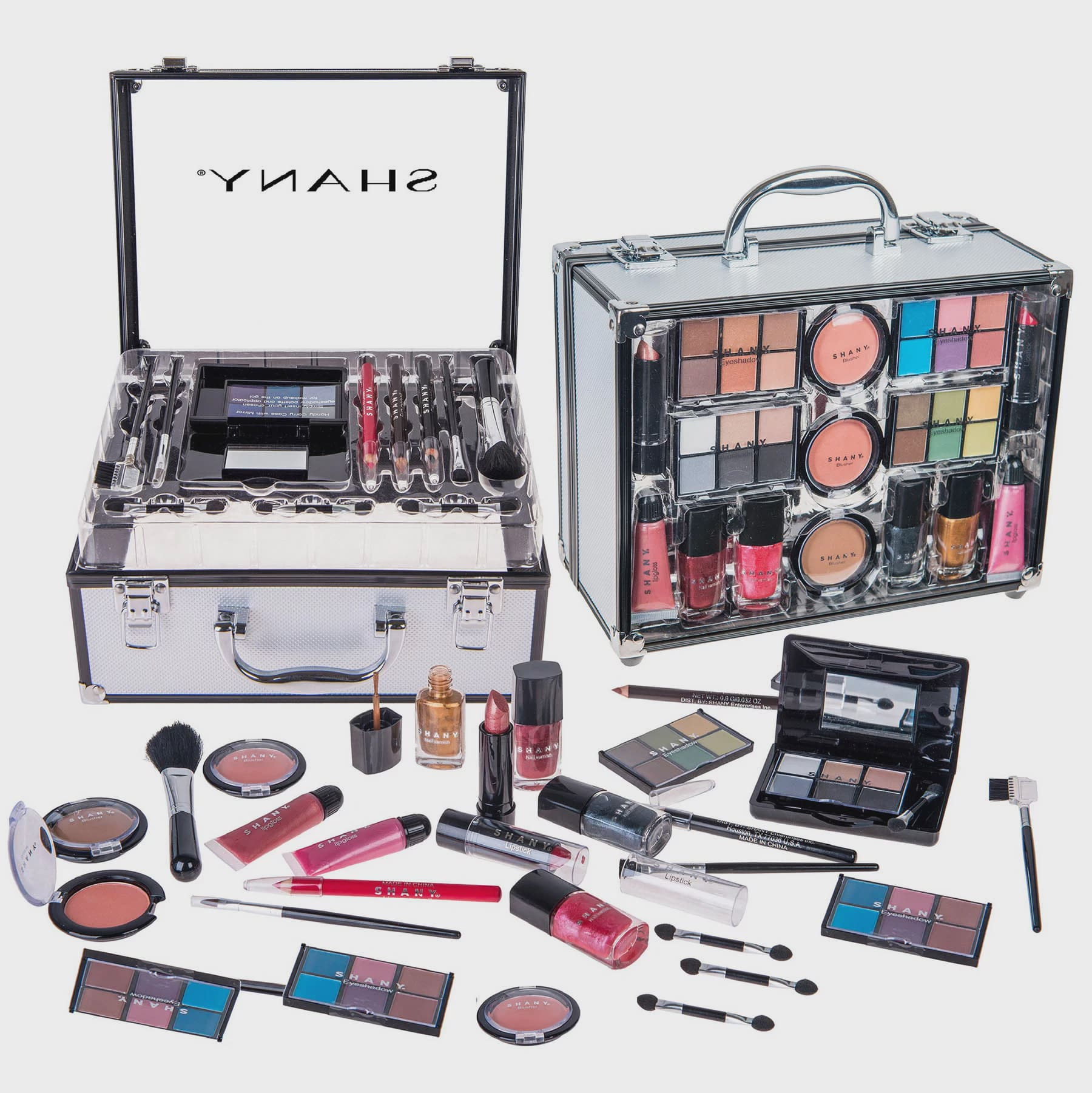 Shany Carry All Trunk Makeup Set 28