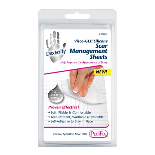 silicone scar sheets pedifix visco gel silicone scar management sheets 12503