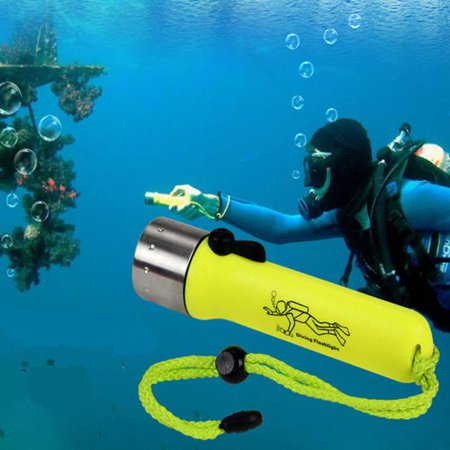 Underwater 1200LM CREE XM-L XPE LED Diving Flashlight Torch Lamp Waterproof (Diving Marker Light)