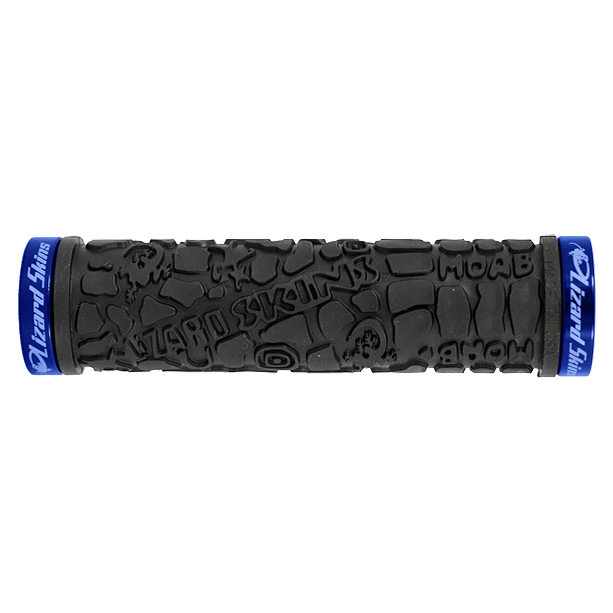 Lizard Skins Moab Lock On Grips Black Blue