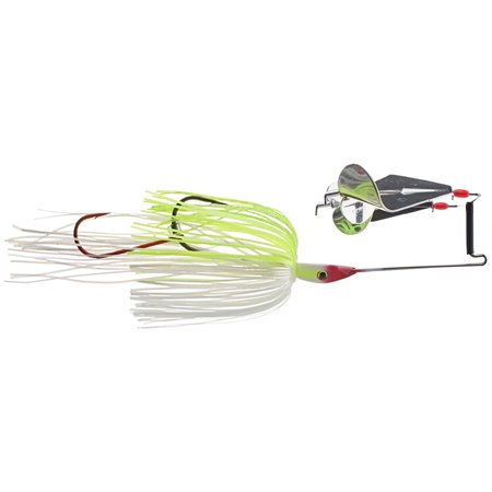 Strike King Premier Plus The Double Take Buzzbait 1/2 oz. Chart/White