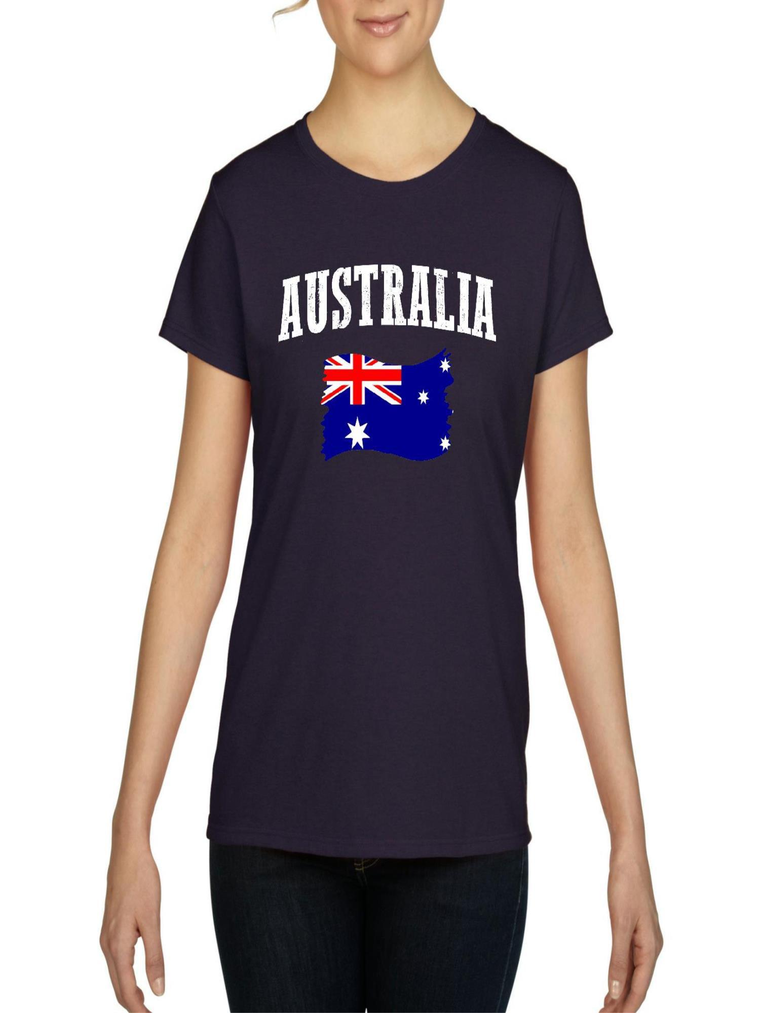 Normal Is Boring Australia Flag Women S Short Sleeve T Shirt