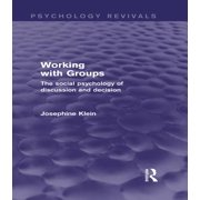 Working with Groups (Psychology Revivals) - eBook