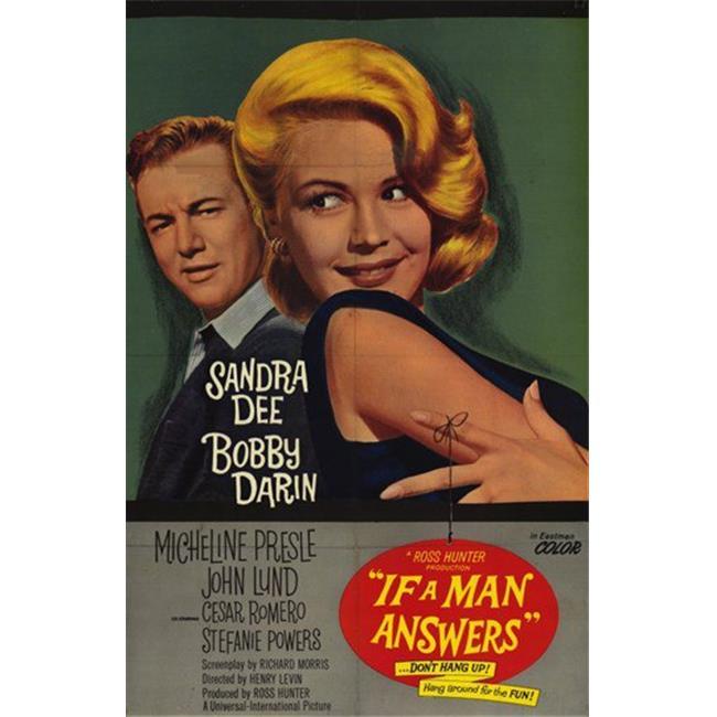 If A Man Answers Sandra Dee Bobby Darin 11x17 Mini Poster