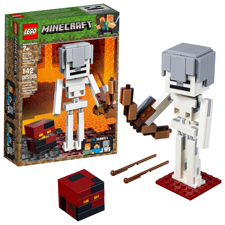 LEGO Minecraft Skeleton BigFig with Magma Cube 21150