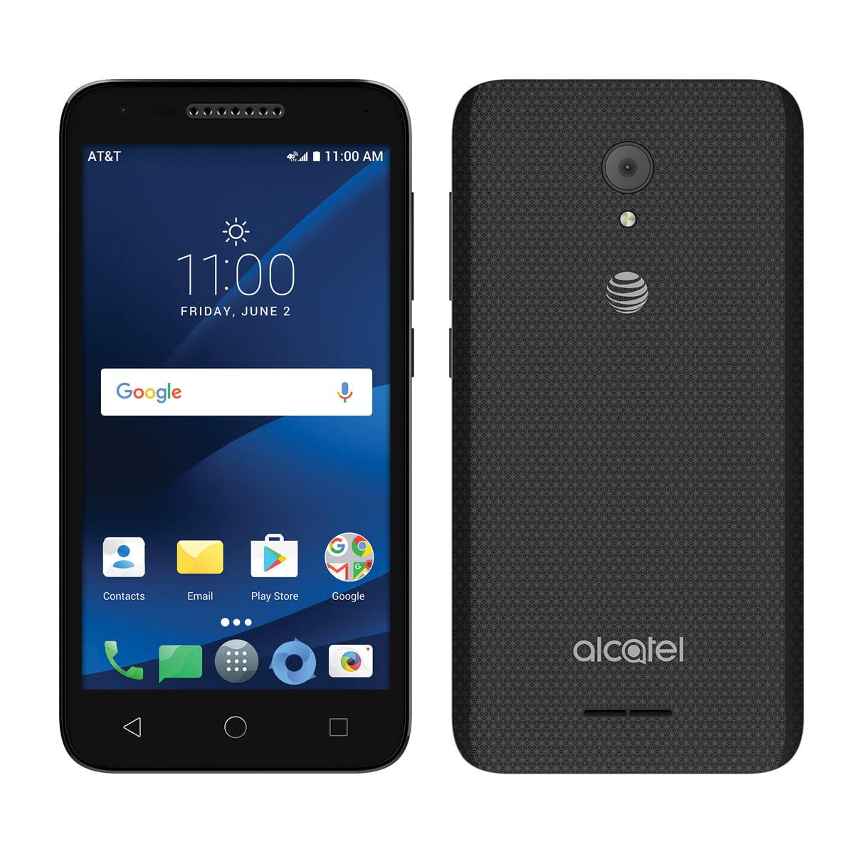 Alcatel Ideal Xcite 5044R 4G LTE GSM Unlocked (AT&T) Smartphone - Black - Walmart.com - Walmart.com