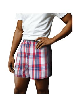 06537e310cbcc Product Image Mens Woven Boxers, 4 pack