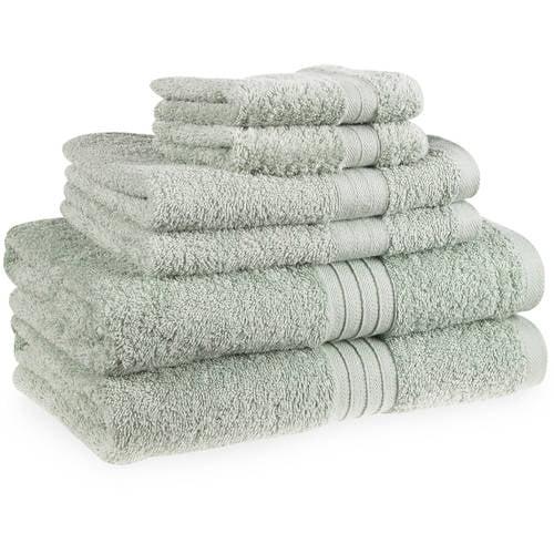 Forever Color Cotton Bleach-Safe 6-Piece Towel Set