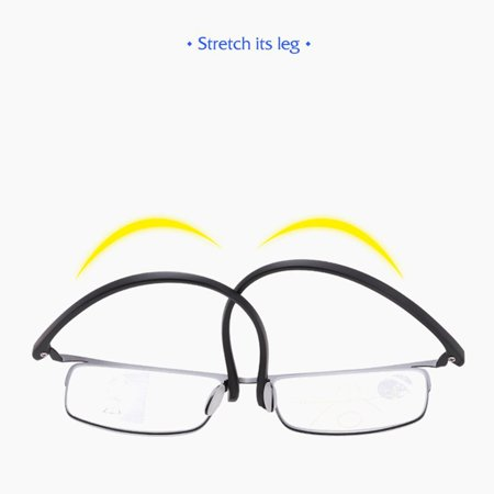 Progressive multi-focus metal solderless point automatic zoom reading glasses - image 10 of 10
