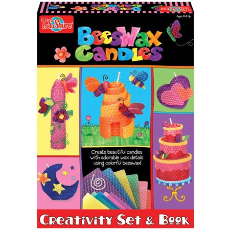 T.S. Shure Beeswax Candles Creativity Set and Book