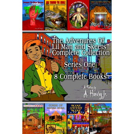 Lil Egypt Collection (The Adventures Of Lil Man And Skeets Complete Collection - eBook)