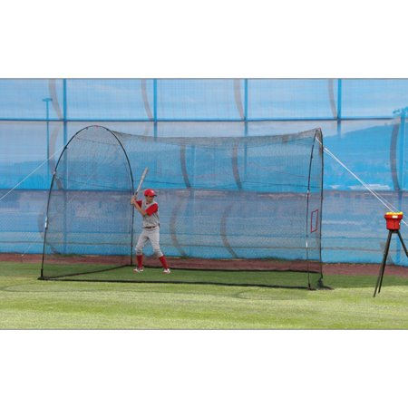 Heater Sports 12 ft. HomeRun Lite-Ball Batting Cage ()